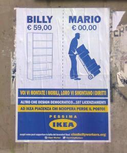 Ikea voi vi montate i mobili, loro vi smontano i diritti