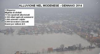Alluvione nel modenese